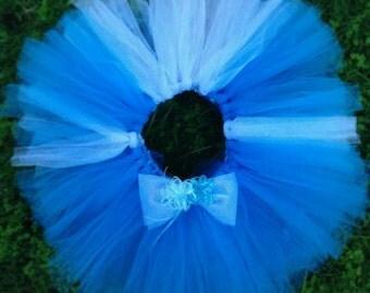 Blue on blue Tutu skirt