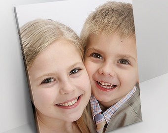 Your Photo On Canvas - All Sizes - Custom Canvas - Gallery Wrapped Canvas Wall Art - Customized For You