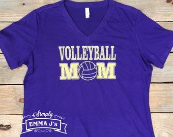 Volleyball Mom, volleyball, volleyball shirt, Mom, Mom gift, gift idea, team spirit, school