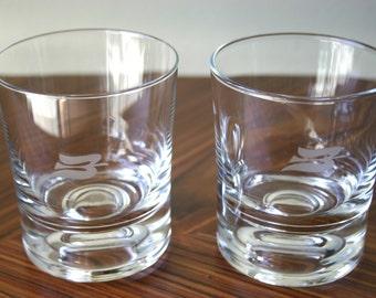 Royal Viking Skald Club Rocks Glasses (set of 2)