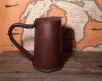 Leather Tankard/Mug/Stein style B