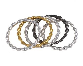 Sterling Silver Multiple Rings