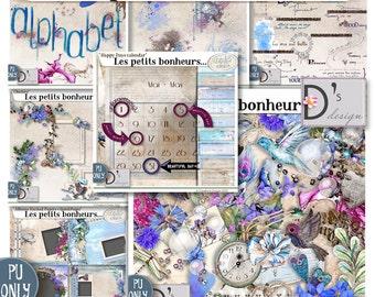 Les Petits Bonheurs - Collection - digiscrap