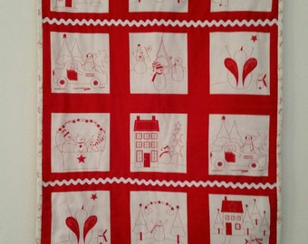 Snowman Christmas Wallhanging