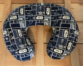 Star Wars Nursing Pillow Cover -- Breastfeeding Pillow Slipcover Minky