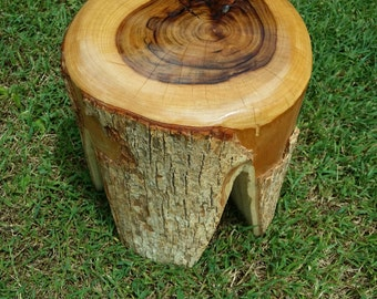 timber stool