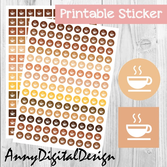 ... Stickers Printable Autumn Stickers Fall Sticker Calendar Reminder