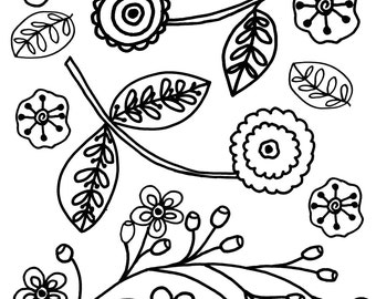 Coloring Page The Garden