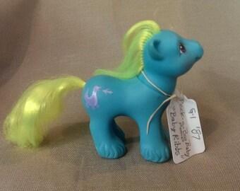 G1 my little ponies Peek A Boo Baby Ponies-Baby Ribbs