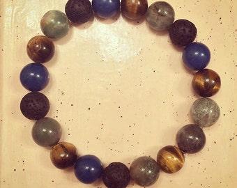 Men's Mixed Natural Bracelet