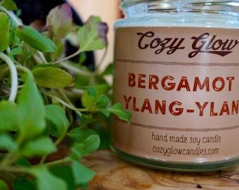 Bergamot & Ylang-Ylang Soy Candle 6.8 ounce Jar