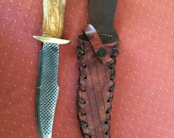 The Trapper, one of a kind custom knife