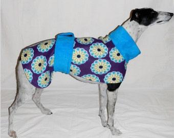 65cm 'flowers' dog coat