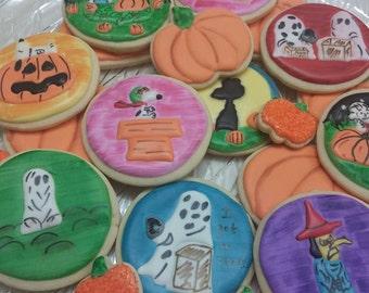It's the Great Pumpkin, Charle Brown Cookies