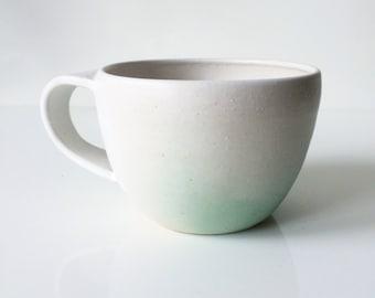Mint Ombre Ceramic Mug