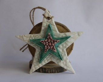 Stacked Star Ornament- 50% OFF