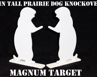 Steel Shooting Targets-Prairie Dog Silhouette Knockovers-SB Pistol&Rifle Plates