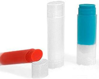 Oval Lip Balm Tube .15 oz, Set of 12