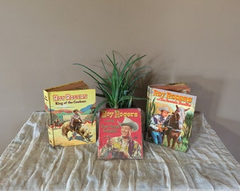 Roy Rogers Books Set of Three
