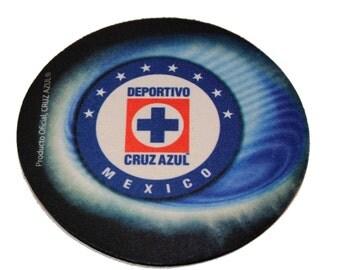 Cruz Azul Mexico Soccer Set of 4 Coasters - Set 4 Coasters Soccer Mexico