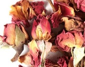 Dried Roses Petals & Buds for Rose Petal Tea| Dried Red Roses | Wedding Decorations Roses and Crafting |Dried Roses from The Tiny House Farm
