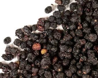 Organic Elderberries | Whole Elderberries | Elderberry Syrup recipe from The Tiny House Farm