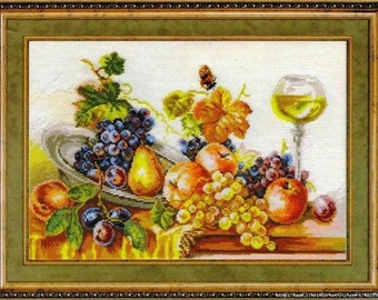 Cross Stitch Kit by Alisa - AUTUMN STILL LIFE