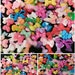25pc Assorted Small Bow Lot,Bows Miniature Ribbon Kawaii Resin Cabochons
