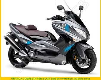 Stickers moto motorcycle Yamaha TMAX (2008-2011) t-max Vinyl Decal Graphic Code.0027
