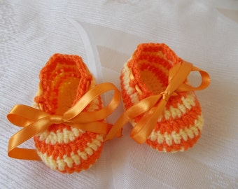 Crochet Baby Shoes, baby boots, Sneakers baby, athletic shoes, Baby slippers, gifts for baby, Booties crochet, handmade baby,  Baby gift