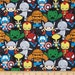 NEW ARRIVAL Marvel Kawaii Packed Cotton Fabric by Springs Creative Sold By the Yard Now In STOCK