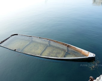"Fine Art Photography, Landscape, Nature,Boat,8X12"" or 16x24"",Rowboat adrift"