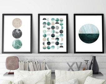 Set of 3 Prints, Print Set, Minimalist Poster, Minimalist, Scandinavian Modern, Scandinavian Print, Scandinavian, Scandi Print, Downloadable