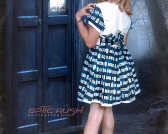 Doctor Who Dress for Little Girls size