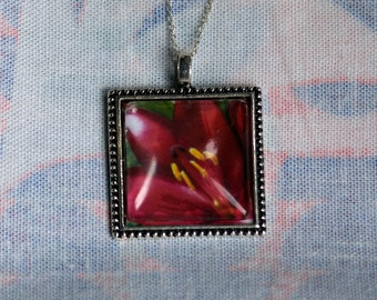 Lily Photo Necklace