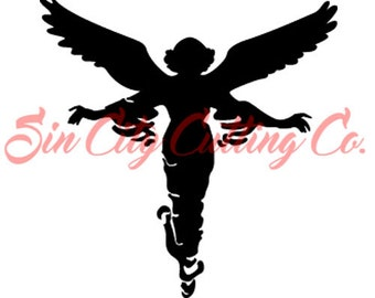 Angel decal, angel wings, wing decals, holy angel stickers