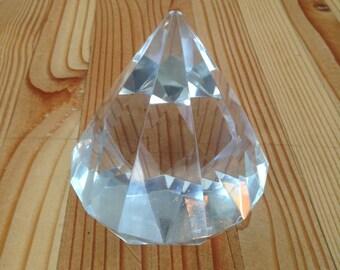 Tiffany & Co diamond shaped paperweight