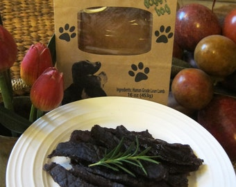 Naked Lamb - Simply Healthy Jerky Treats for Dogs- FREE Shipping