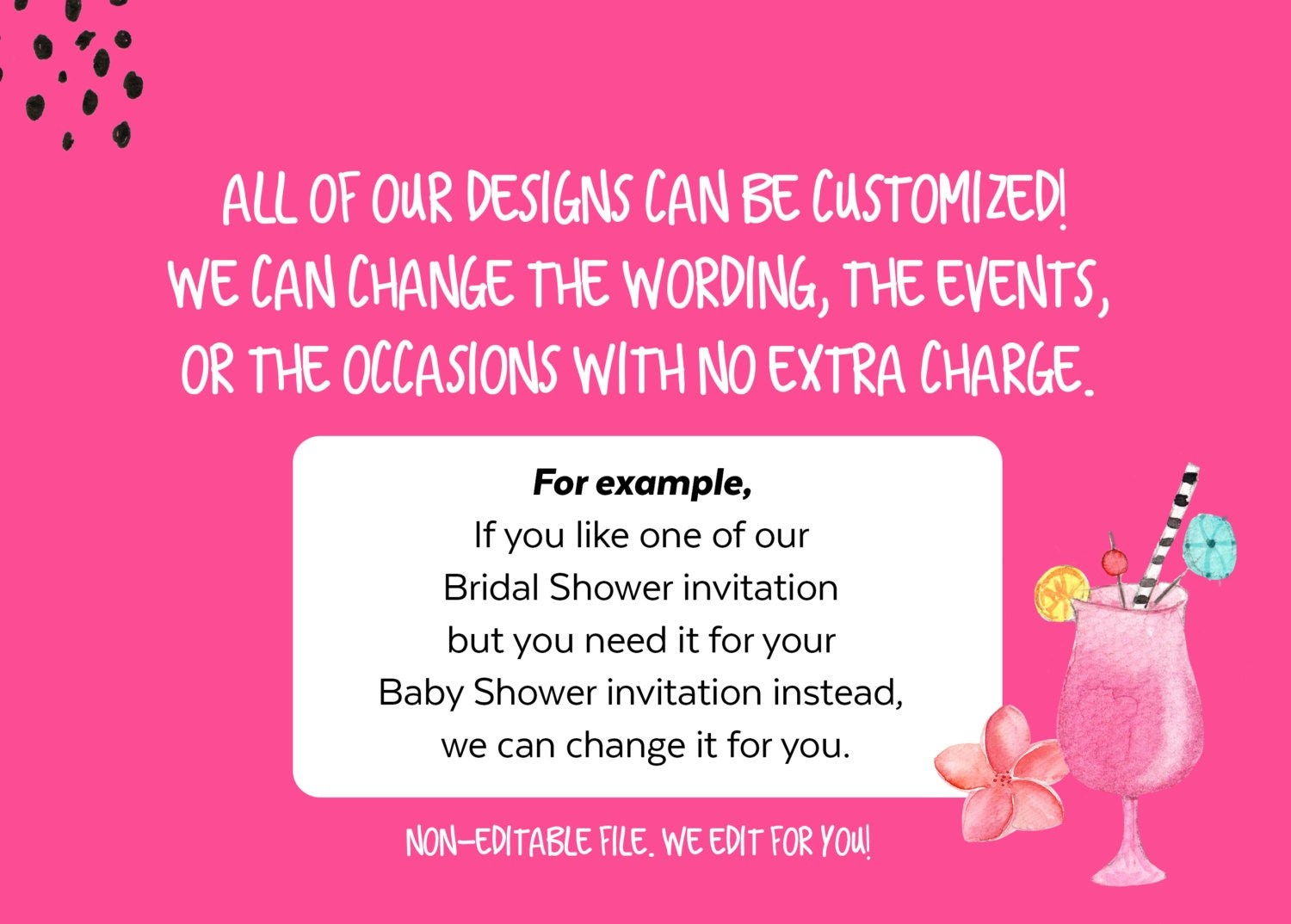 Non baby shower invitation design your own baby shower invitations free she leaves a little sparkle wherever she goes baby shower invitation il fullxfull she leaves a filmwisefo