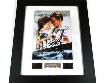 Titanic Film Cells Original Movie Memorabilia in Picture Frame