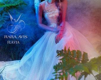 Bridal gown FLAVIA, boho wedding, wedding dress vintage, boho wedding dress, lace dress, wedding dress, wedding dress lace, bridal dress