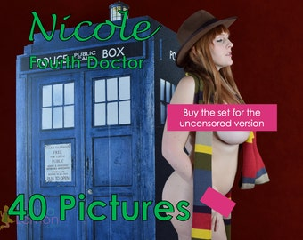 Nicole - Fourth Doctor - (Mature, Contains Nudity) - 40 Pages