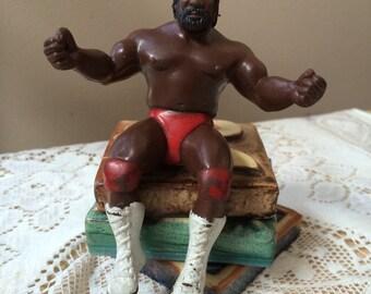 Vintage 1985 WWF Junkyard Dog Thumb Wrestling Puppet WWE