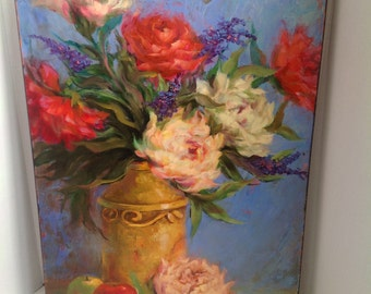 Ana Delia McCormack Original Oil Painting