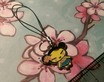 Pucca Cell Phone Charm