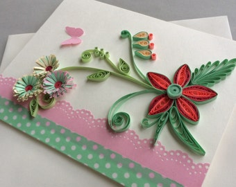 Quilled Card for Any Occation