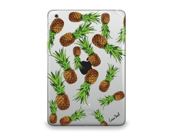 iPad Air case, iPad Mini case, iPad Mini 2 case, iPad 3 case, iPad clear case, custom iPad case, iPad TPU, Pineapple Yard case