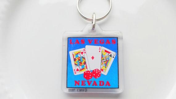 Las vegas key ring nevada key ring blue key ring casino for Arts and crafts stores in las vegas