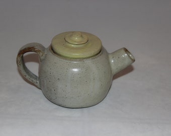 Little Yellow Ceramic Teapot