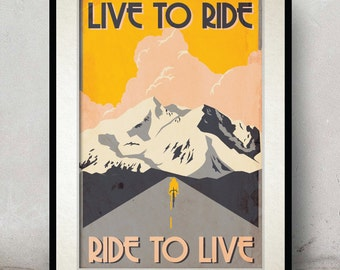 Bicycle Art Posters - Minimalist Poster - Unique Wedding Gift - Bicycle Wall Art - Home Decor - Housewarming Gift - Poster